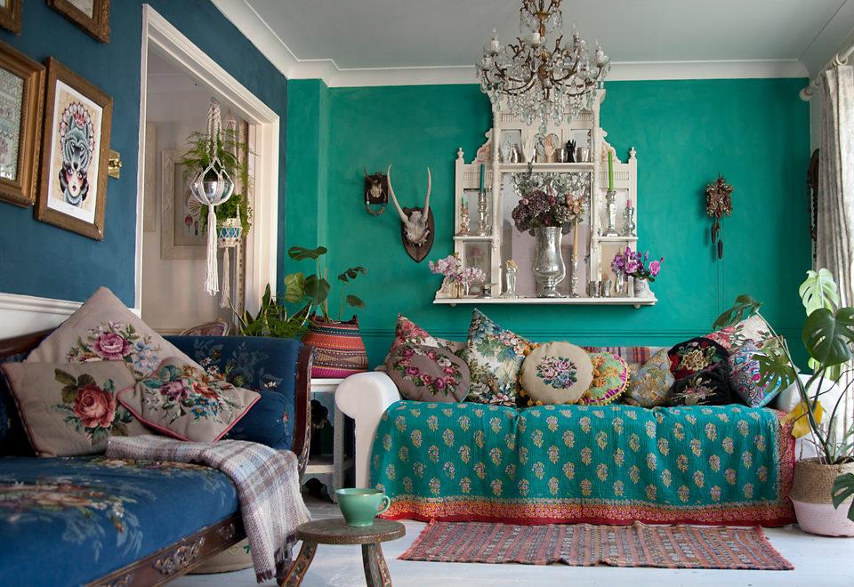 客廳設計風格:波希米亞風 室內設計知識家